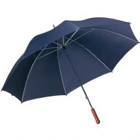 "Extra Large Wedding Golf Umbrella 47"" Manual Open Brides Bridesmaids Blue Brolly"